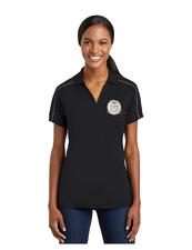 CSU Ladies Grey/White Polo Shirt